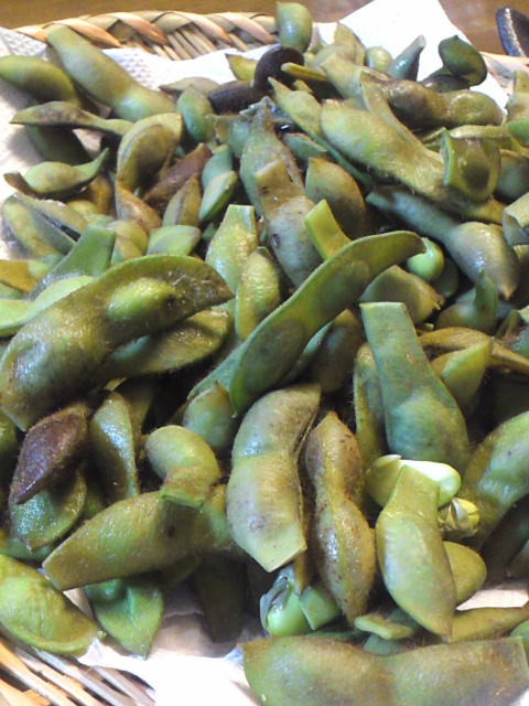 冷凍黒枝豆